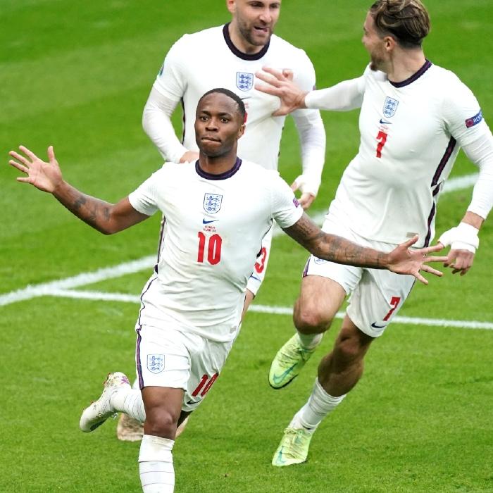 Raheem Sterling broke the deadlock as England overcame Germany at Wembley