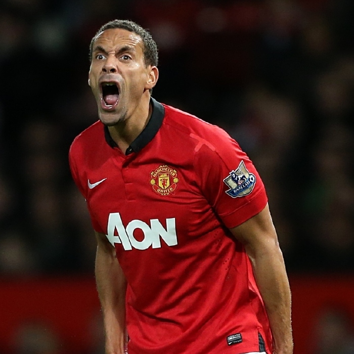 Rio Ferdinand was a mainstay of the Manchester United defence for more than ten years