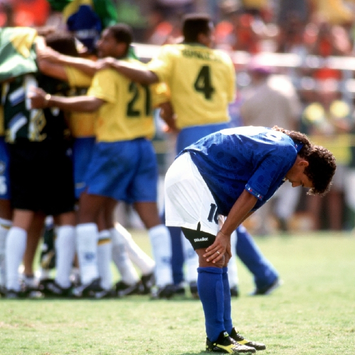 Robert Baggio's penalty miss keep on the biggest stage of all - the World Cup final