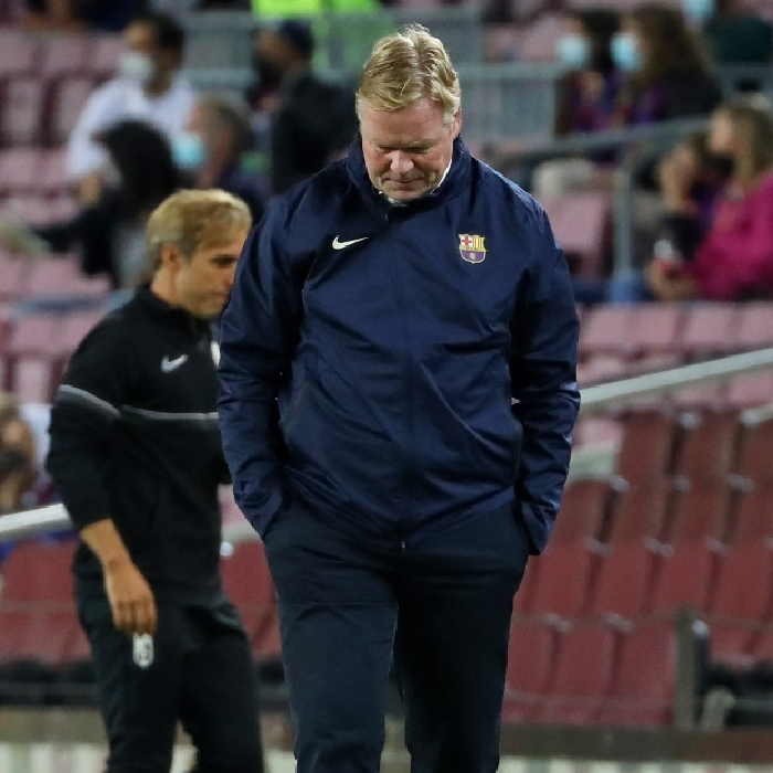 Ronald Koeman is on borrowed time at Barcelona