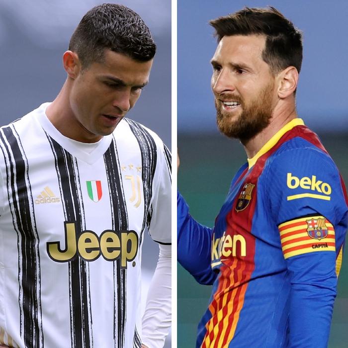 Cristiano Ronaldo and Lionel Messi continue to inspire