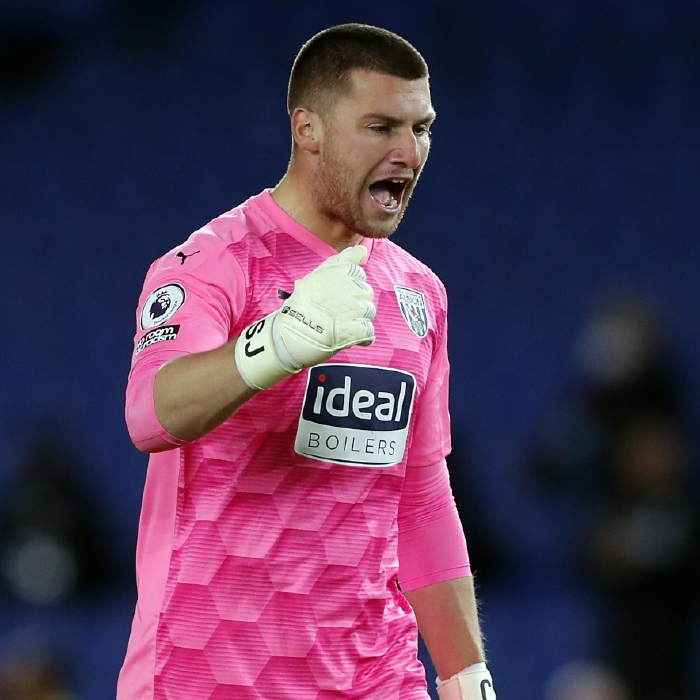 West Brom keeper Sam Johnstone is expected to be called up by England for this summer's Euros