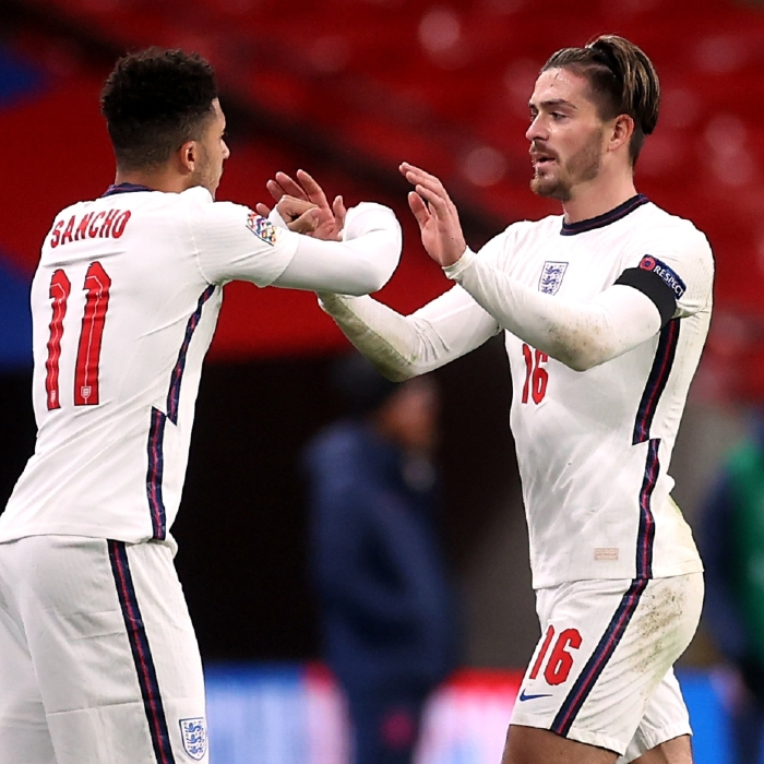 England can boast an array of attacking talent, including Jadon Sancho and Jack Grealish