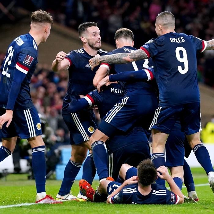 Scotland celebrate Scott McTominay's dramatic late winner against Israel