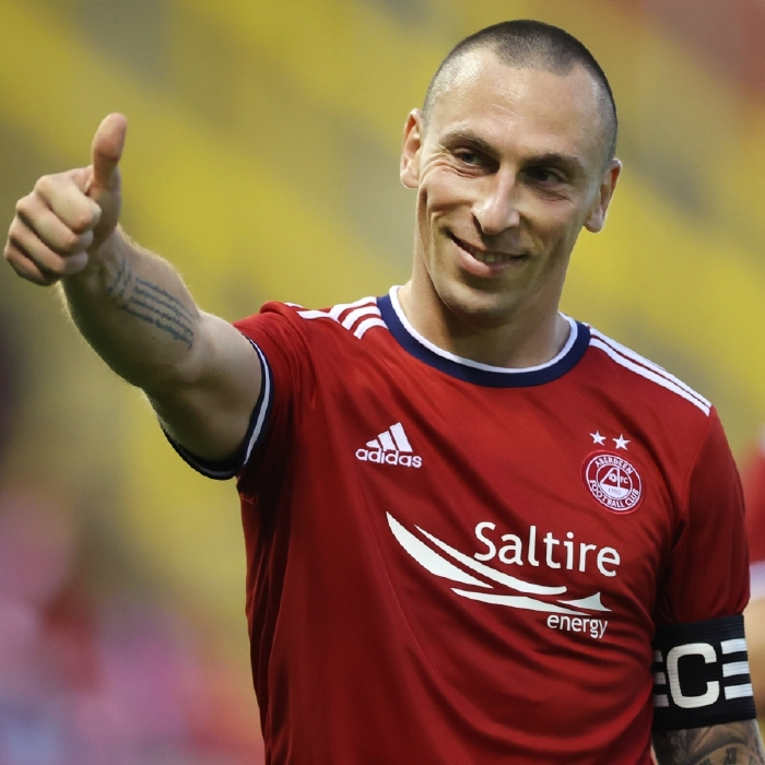 Scott Brown has made the switch to Aberdeen in the close season