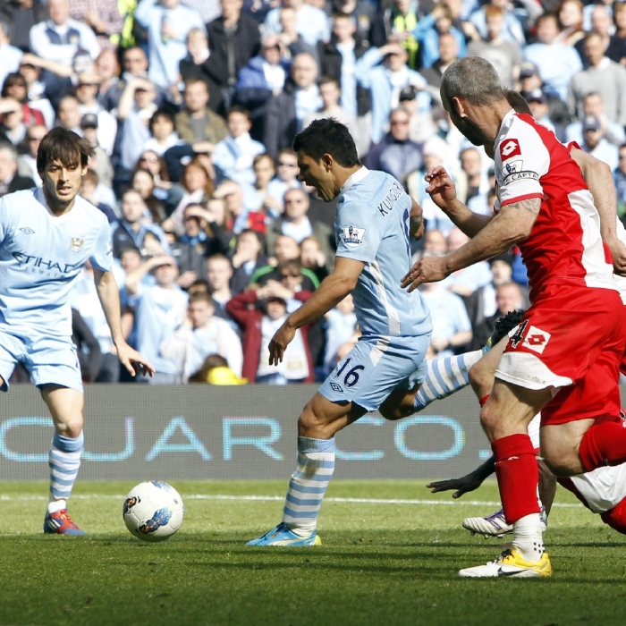 Sergio Aguero produces the most magical of finishes to a Premier League season