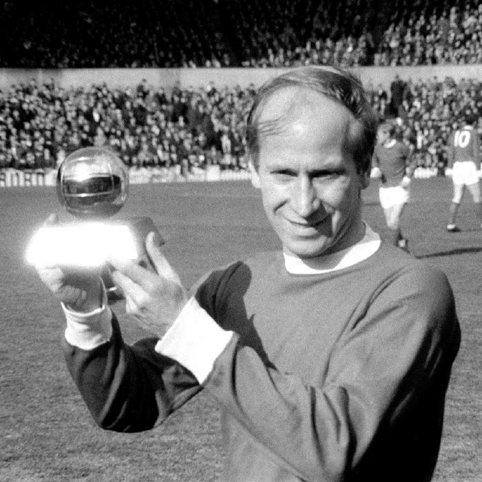 Sir Bobby Charlton, Manchester United, England, 1966