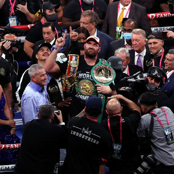 Tyson Fury defeated Deontay Wilder in third encounter