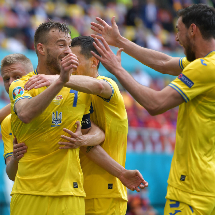 Ukraine picks up their first victory in the tournament
