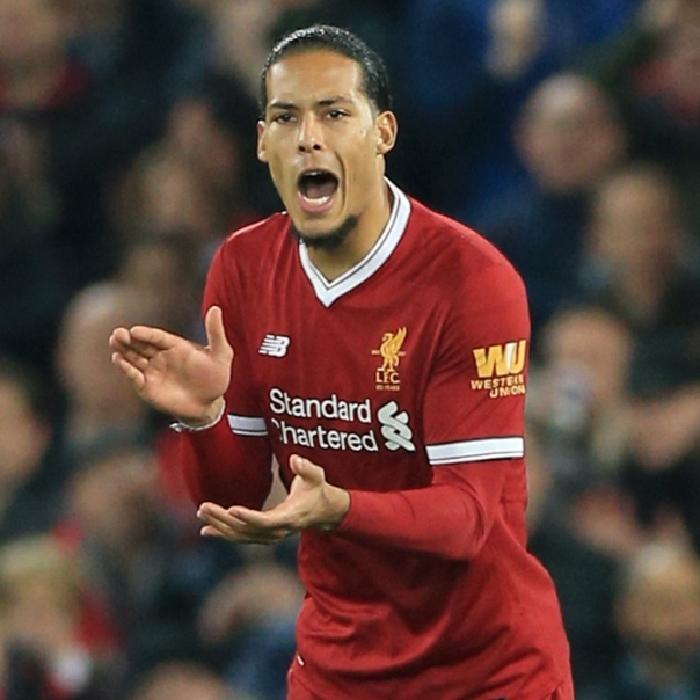 Liverpool defender Virgil Van Dijk is stepping up his rehabilitation