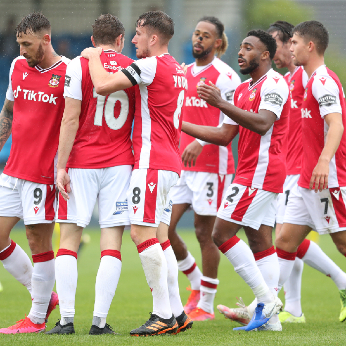 Conference League clash between Wrexham and Notts County